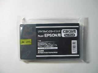 エプソン ICBK39A リ・ジェットインク
