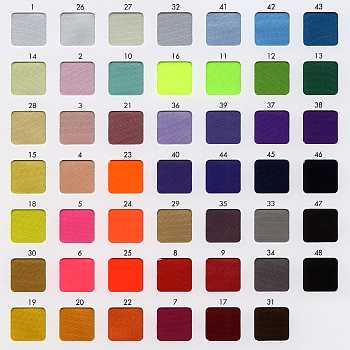 カラーサテン 48色 ポリエステル100%